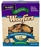 Three Dog Bakery Vanilla Woofer Cookies, Baked Dog Treats, 14-Ounce