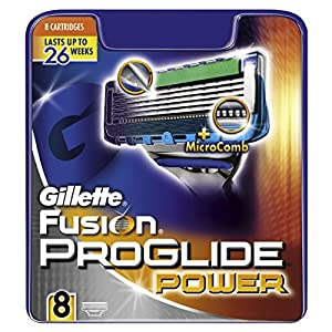 Gillette Fusion Proglide Power Razor Blades - Pack of 8