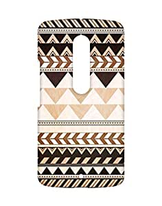 Teck Temple Back Cover for Moto X Play