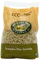 Nature\'s Path Organic  Flax Plus, Pumpkin Granola Cereal, 26.4-Ounce Bags (Pack of 6)