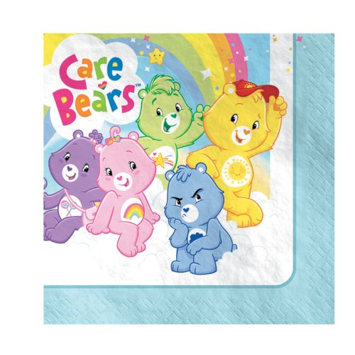 Amscan 154198 Care Bears Happy Days Lunch Napkins front-1008689