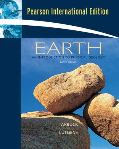 Earth:An Introduction to Physical Geology: International Edition