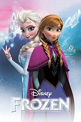 Frozen Poster Die Eiskönigin Anna & Elsa - Poster Großformat (61cm x 91,5c