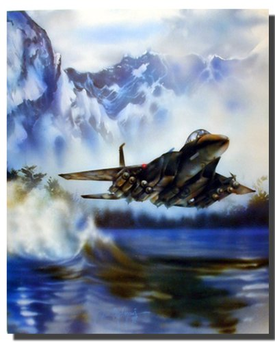 fighter-jet-f-15-eagle-flying-aviation-aircraft-painting-wall-decor-art-print-poster-16x20
