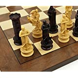 Medieval Times King Richard the Lionheart Knights Antique Color Chess Men Set W/ 17
