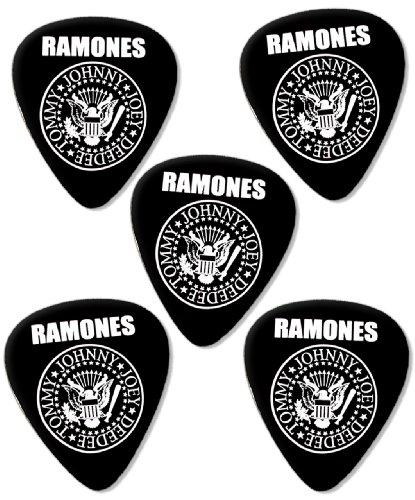 Ramones Premium Chitarra Picks Plettri x 5