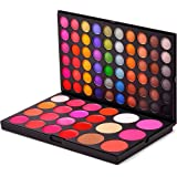 Professional Shimmer, Matte, Lip Gloss and Blush 82 Color Eyeshadow Makeup Cosmetic Palette Eye Shadow