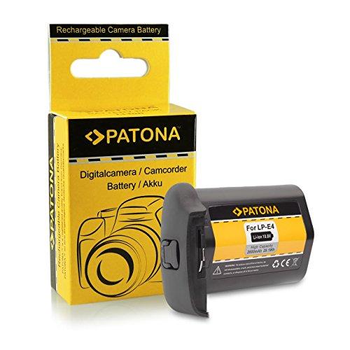 Batteria LP-E4 / LP-E4N per Canon EOS 1D C | EOS 1D Mark III |EOS 1D Mark IV | EOS 1D X | EOS 1Ds Mark III