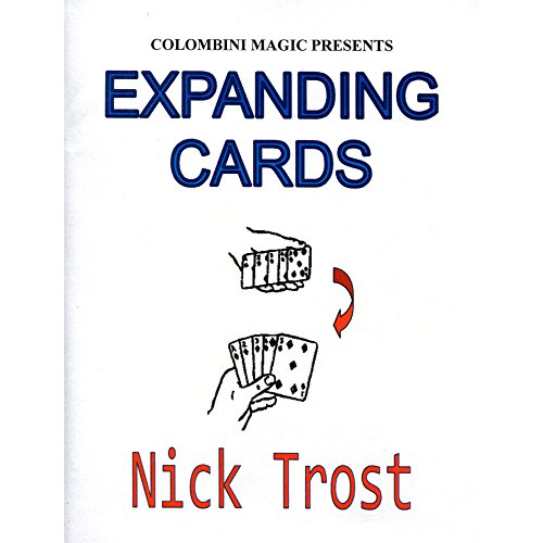 MMS Expanding Cards by Wild-Colombini Magic Trick
