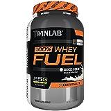 Twinlab 100% Whey Fuel Nutritional Shake, Double Chocolate, 2 Pound
