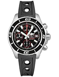 NEW BREITLING AEROMARINE SUPEROCEAN CHRONOGRAPH II MENS WATCH A1334102/BA81