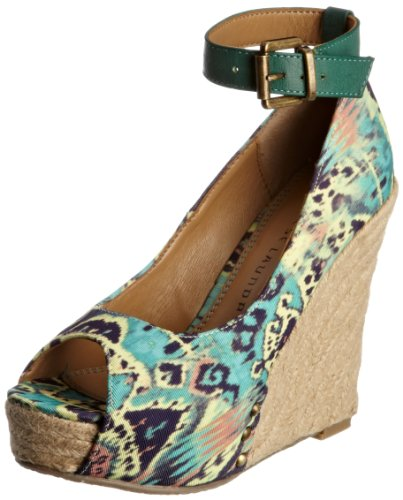 Chinese Laundry Women's Dj Mix Teal Wedges 5052125673862 6 UK
