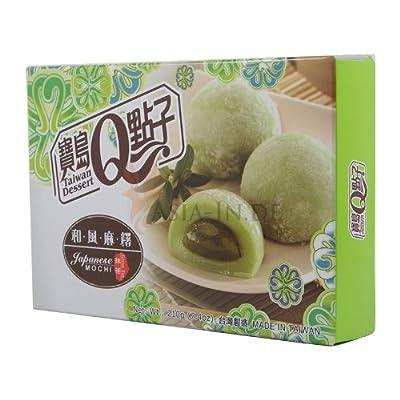 """Royal Reiskuchen """"Mochi"""" nach japanischer Art, mit Grüner Tee Geschmack 210g von Taiwan bei Gewürze Shop"""
