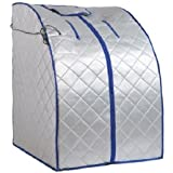 Gizmo Supply 600W Portable Therapeutic Steam Sauna Spa XL