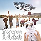 Voomall 2.4G 4CH 6Asix Gyro Drone Headless Mode One Key Return FPV Real Time RC Quadcopter with 2MP Camera Black