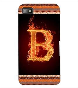 PrintDhaba GRANDbet B D-2528 Back Case Cover for BLACKBERRY Z10 (Multi-Coloured)