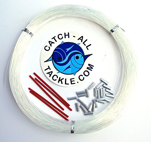 Monofilament fishing leader kit 100yds clear for Fishing line leader
