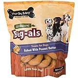 Three Dog Bakery Beg-als Peanut Butter Dog Treats, 32-Ounce