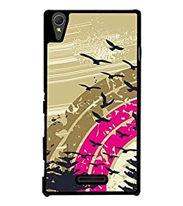 Flying birds Back Case Cover for SONY XPERIA T3