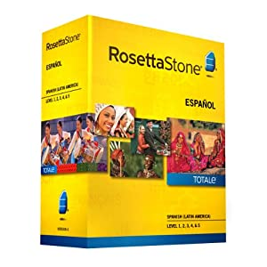 Rosetta Stone V4 TOTALe: Spanish (Latin America) Level 1-5 Set for $599.00
