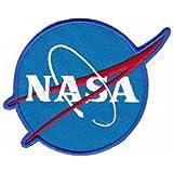 Aufnäher Bügelbild Aufbügler Iron on Patches Applikation NASA Abzeichen Raumfahrt