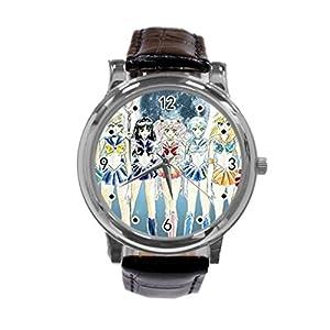 ailormoon Japan Anime Unique Diy Custom Photo Design Round Wrist Women Watch -S116