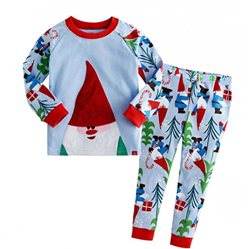 FEITONG 2Pcs Toddler Kids Baby Boy's Christmas T-shirt Tops+ Pants Set (3T / 3Year) (Jordan Toddler Clothes compare prices)
