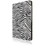 Vangoddy Mary Samsung Galaxy Pro 10.1-inch Tablet Carrying case with Sleep mode, Hand Wrap and Stand (Black-White Zebra)