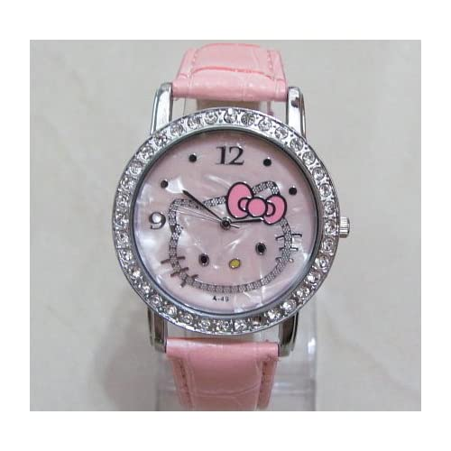 Miss Peggy Jos   Hello Kittys A49p Quartz Movement Watch** Comes with a Hello Kitty Necklace***2 3 Days From Order to Your Door***