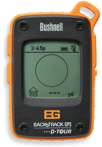 Bushnell Bear Grylls Edition Back Track D-Tour Personal GPS Tracking Device, Orange/Black