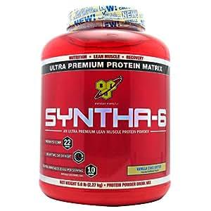 BSN Syntha-6 Protein Powder Vanilla Cake Batter -- 5 lbs