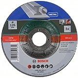 Bosch 2609256333 DIY Trennscheiben Metall 125 mm ø x 2.5 mm gekröpft 5er Set