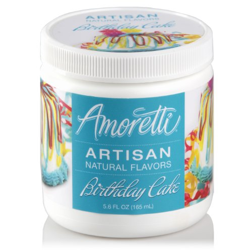 Amoretti Natural Artisan Flavor Birthday Cake Flavoring, 5.6 Fluid Ounce Food, Beverages Tobacco