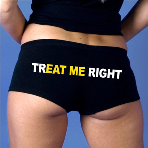 Hot Leathers TrEAT Me Right Ladies Boy Shorts