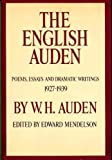 The English Auden (0394420497) by W. H. Auden