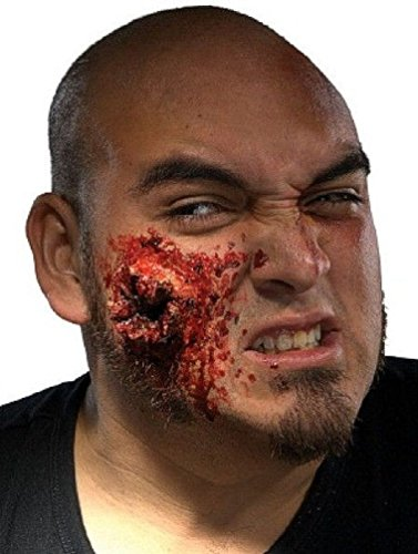 [Popcandy Theatrical FX EZ .357 Bullet Wound Exit Makeup Kit] (Prosthetic Fx Makeup Halloween Masks)