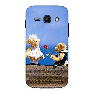 Gorgeous Proposal Teddy Multicolor Back Case Cover for Galaxy Ace 3