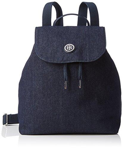 Tommy Hilfiger Damen Poppy Backpack Rucksackhandtaschen, Blau (Winter Denim 901 901), 29x36x15 cm thumbnail
