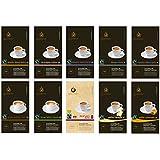 Gourmesso Trial Bundle - 100 Nespresso® Compatible Coffee Capsules - $0.50/pod