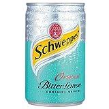 Schweppes Bitter Lemon Cans 12x150ml