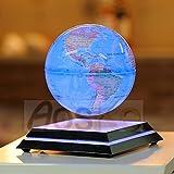 Aoske levitation globe LED Light Globes Luminous Globes Floating Globe Globe with Maglev Globe levitating globe