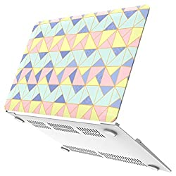 Neon Party (TM) Series iBenzer Global Designer Limited Edition Smooth Finish Plastic Hard Case Cover for Macbook Air 13.3'' (Model: A1369 / A1466), Angle Quartz MAD13AGQZ