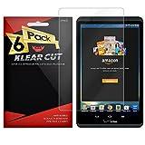 Klear Cut [3 Pack] - Screen Protector for Verizon Ellipsis 8 - Lifetime Replacement Warranty - Anti-Bubble & Anti-Fingerprint High Definition (HD) Clear Premium PET Cover - Retail Packaging