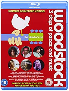 Woodstock [Blu-ray] [Import anglais]
