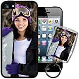 Cell Phones Accessories Best Deals - Apple iPhone 5 / 5S / SE PixCase® - Picture Frame Case - DIY personalized - Insert photos, change anytime or create custom inserts at PersonalizeItYourself - Shock absorbing TPU edges, clear scratch resistant picture window ++ Bonus Photo Keychain ++