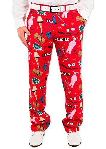 A Christmas Story Leg Lamp Fragile Suit Pants