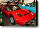 1985 Ferrari 308 GTS 5D25652 Canvas Print / Canvas Art - Artist Wingsdomain Art and Photography