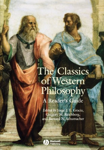 The Classics Of Western Philosophy: A Reader'S Guide front-1060079