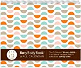 The Aug 2011 - Dec 2012 BusyBodyBook Weekly GRID Wall Calendar
