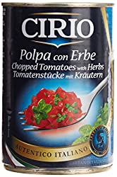 Cirio Chopped Tomatoes with Herbs, 400g